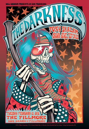 the art of music posters from the fillmore create