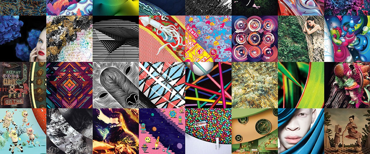 The Adobe Creative Cloud Mosaic