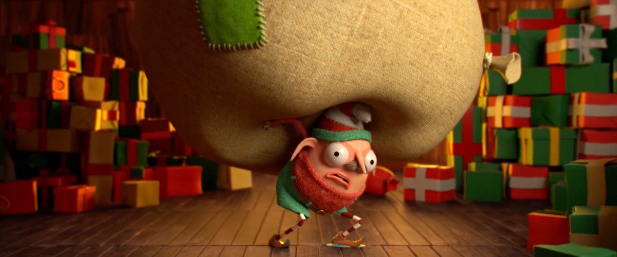 "A still from the holiday animation ""More Stuff"""