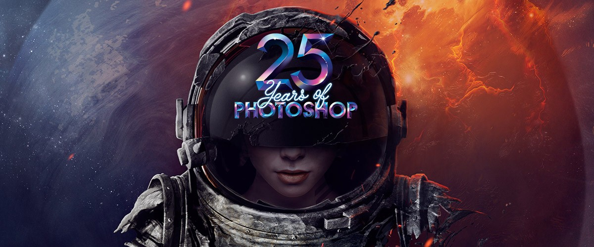 Adobe Photoshop celebrates 25 years