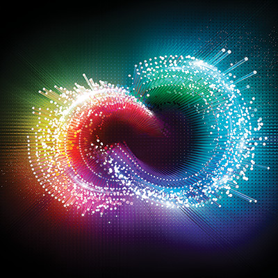 Adobe Creative Cloud identity, or logo, from 2014
