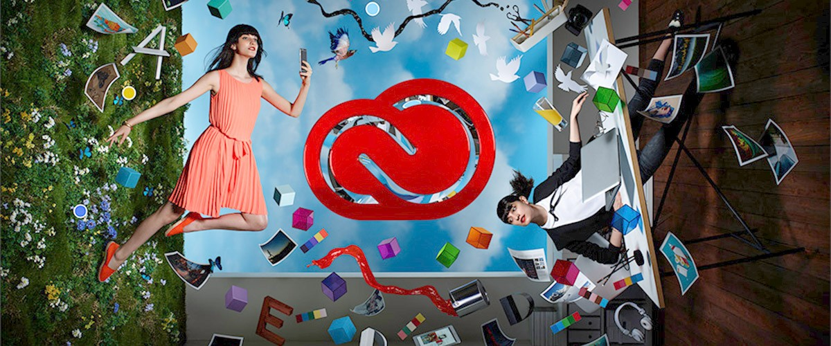 An image of the 2015 Creative Cloud identity