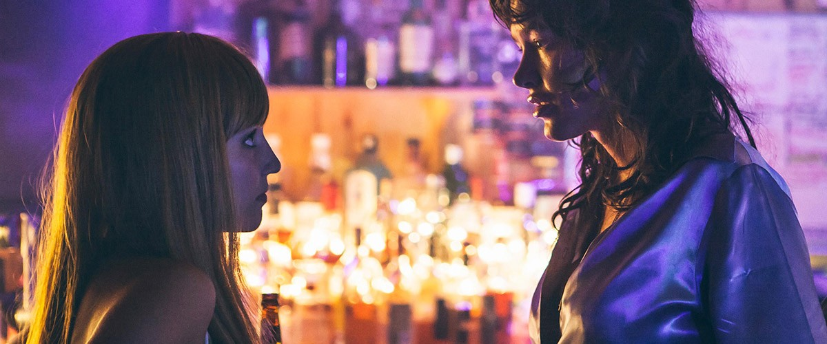 "Dianna Agron and Paz de la Huerta in a scene from the movie ""Bare,"" directed by Natalia Leite"