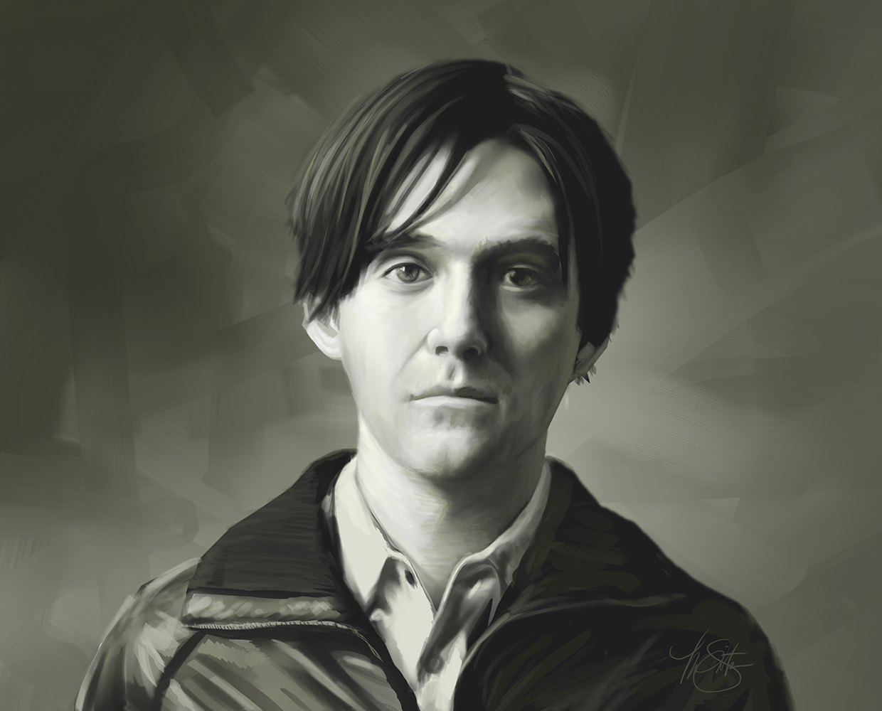 Portrait of Conor Oberst