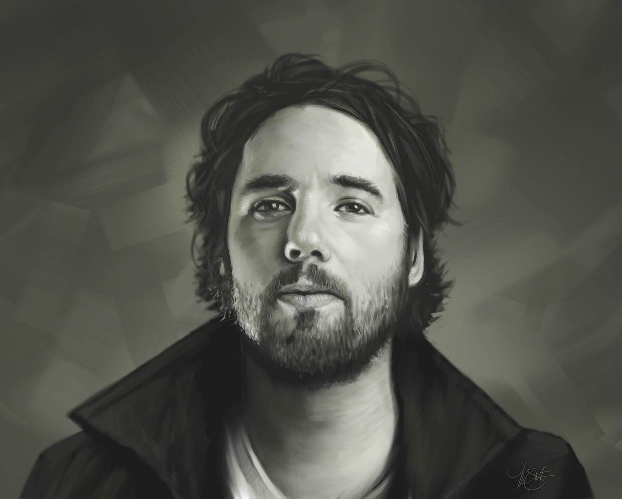 portrait of Kevin Drew