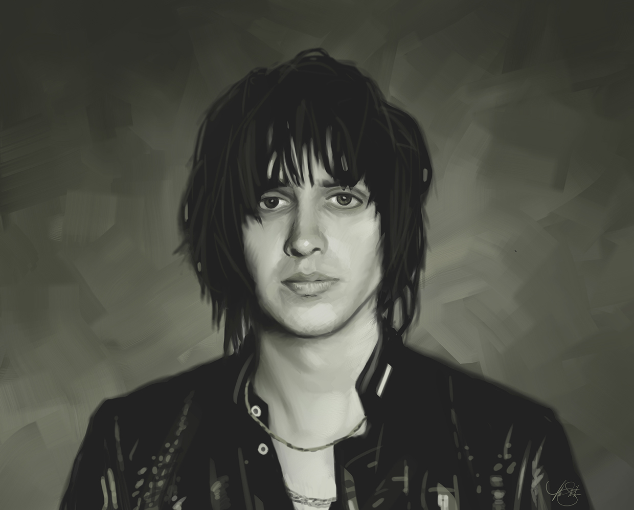 portrait of Julian Casablancas