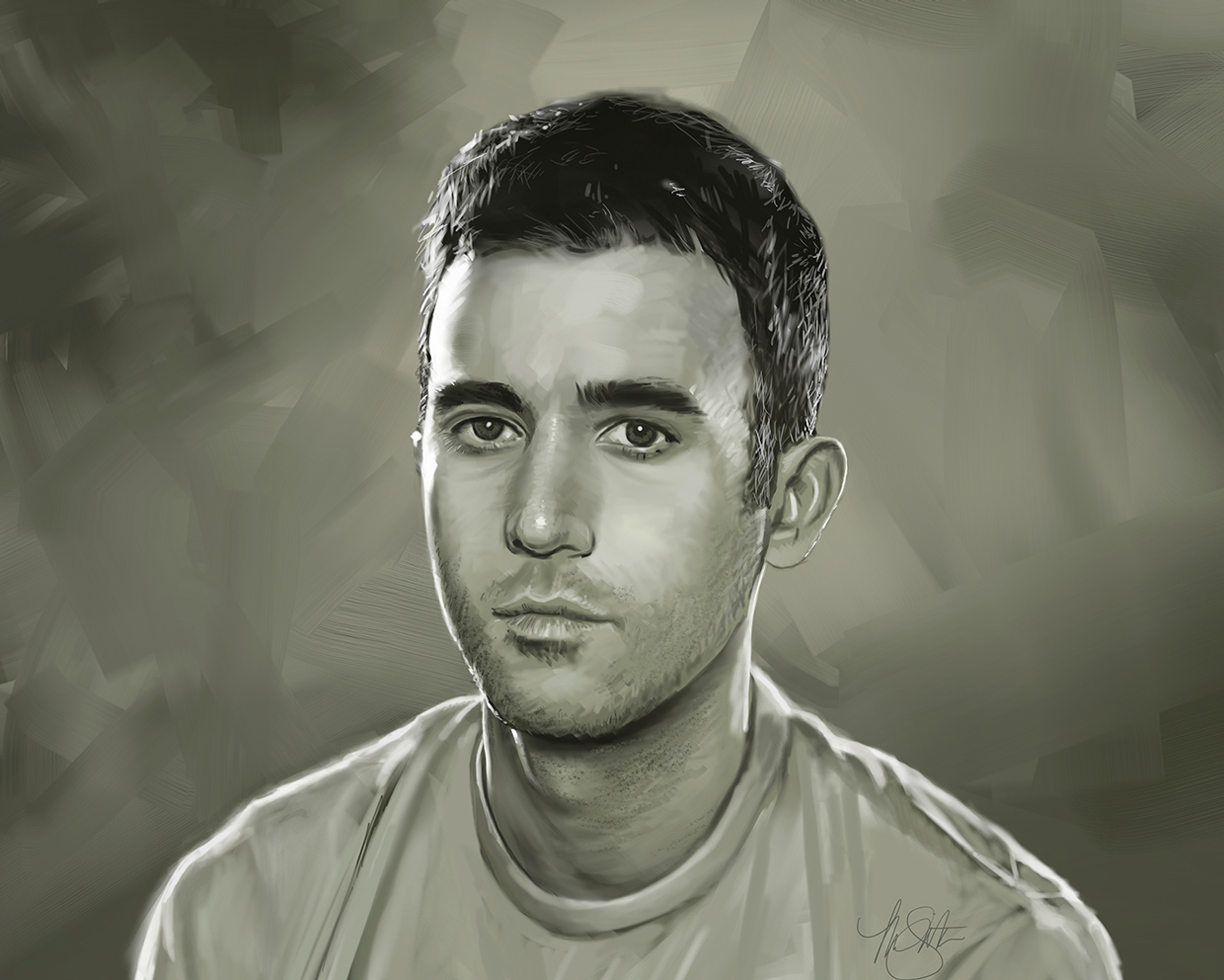 Portrait of Sufjan Stevens