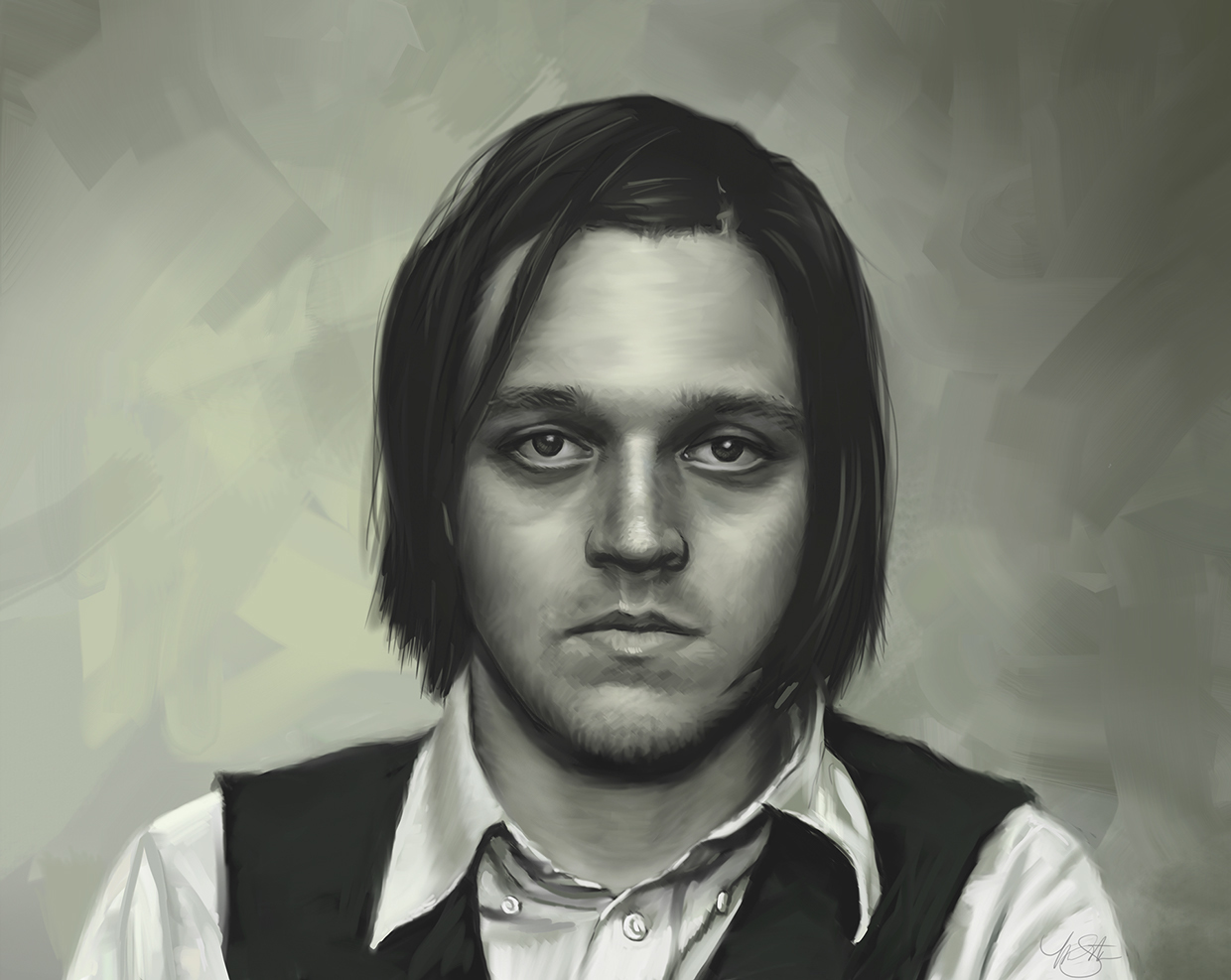 portrait of Win Butler
