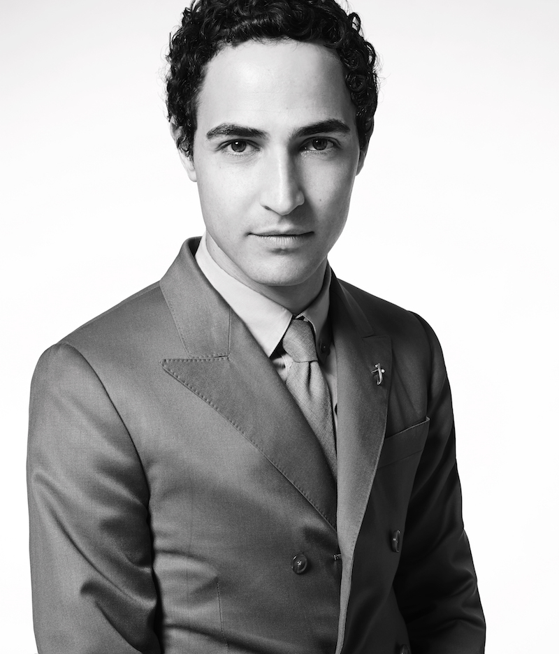 Photo of Zac Posen by Michael Beauplet.