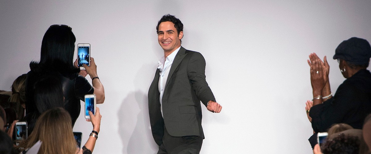 An image of Zac Posen profile, accompanying an interview with Zac Posen