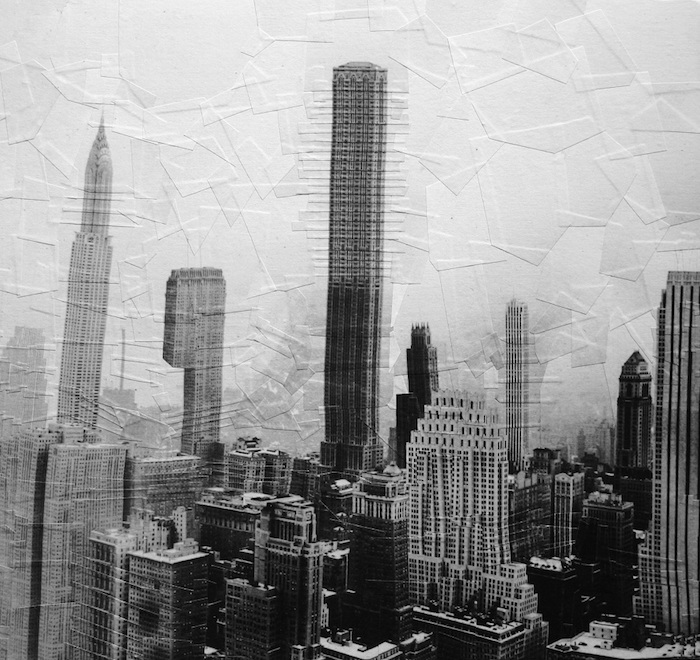 collage image of New York skyline by Lola Dupre