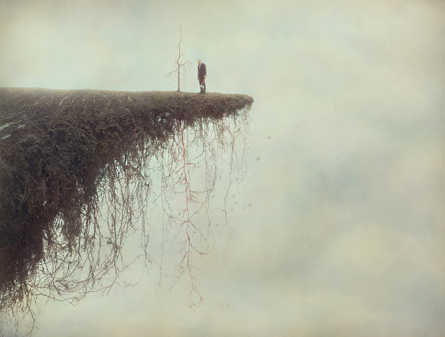 Precipice © 2015 Robert and Shana ParkeHarrison, courtesy of Catherine Edelman Gallery