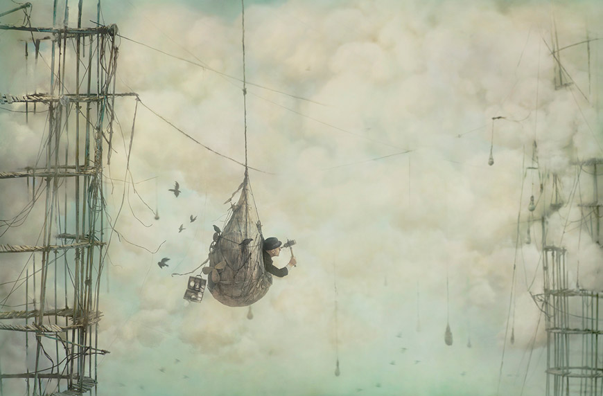 Sojourn © 2015 Robert and Shana ParkeHarrison, courtesy of Catherine Edelman Gallery