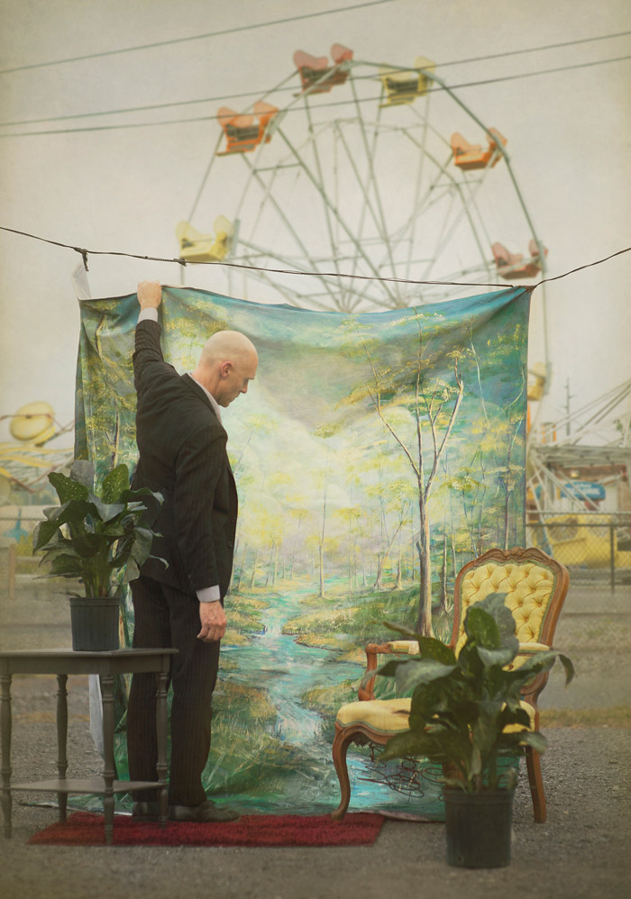 Riverview © 2015 Robert and Shana ParkeHarrison, courtesy of Catherine Edelman Gallery