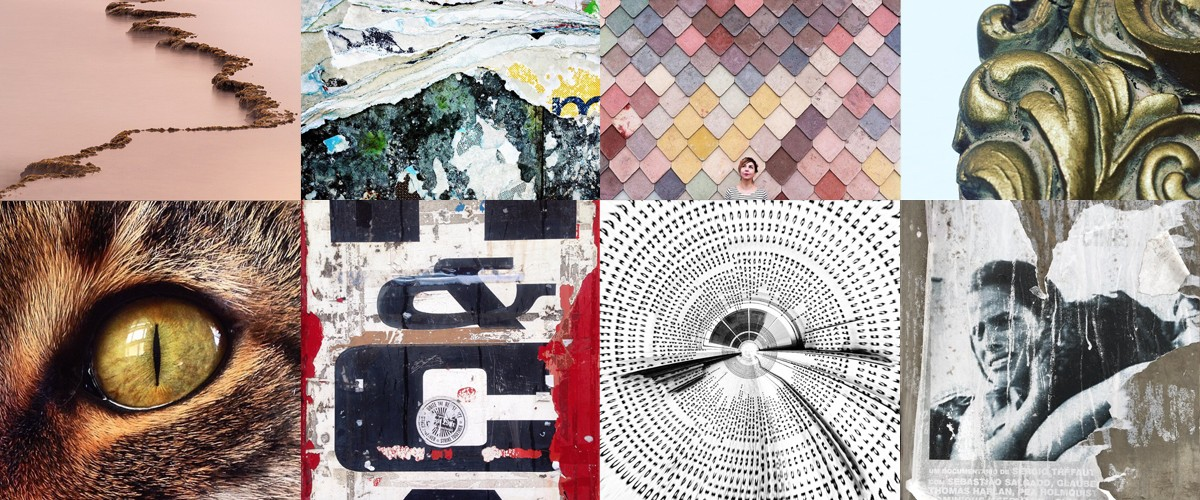 When you are looking for textures or patterns to add depth to your work, these Instagram accounts are inspiring resources.
