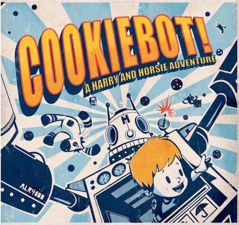 Cover of Cookiebot, by Lincoln Agnew