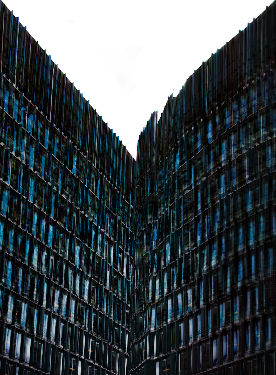 photo-image of London building from Carsten Witte's