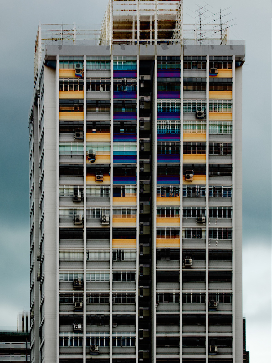 photo-image of Singapore from Carsten Witte's Deconstruction series