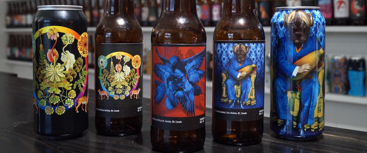 Collective Arts Brewing S Taste For Art Labeled Craft Beer Create