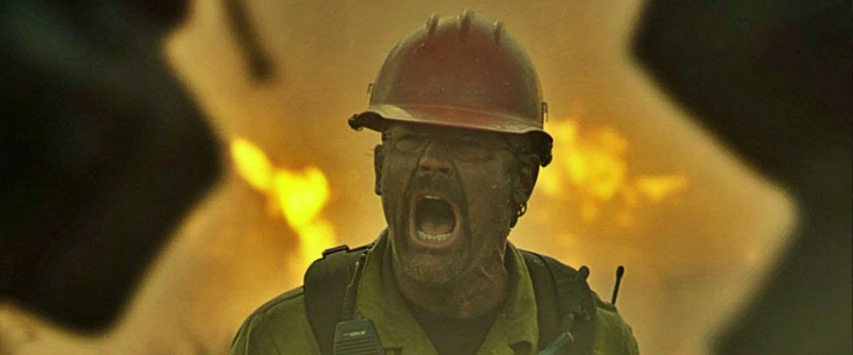 "Image from the film ""Only the Brave,"" which was edited by Billy Fox."