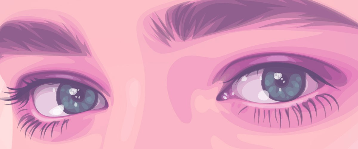 These eyes are Electra Sinclair's, from a vector self-portrait.