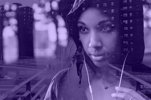 Photoshop How-To: Turn a Double Exposure Purple with Pantone's Color of the Year