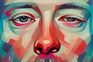Portrait of Thom Yorke by Evgeny Parfenov