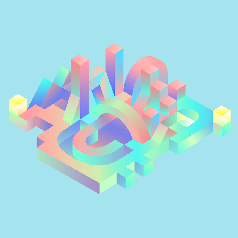 Geometric City illustration by Mohamed Samir