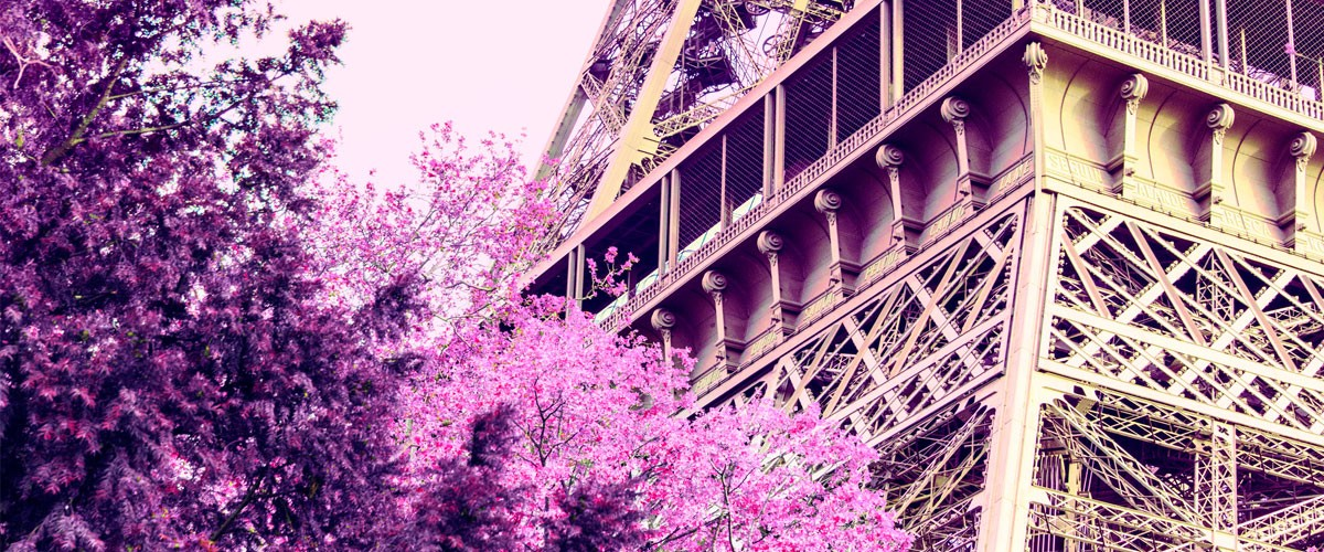 Matt Crump created this image of the Eiffel Tower after a trip to Paris.