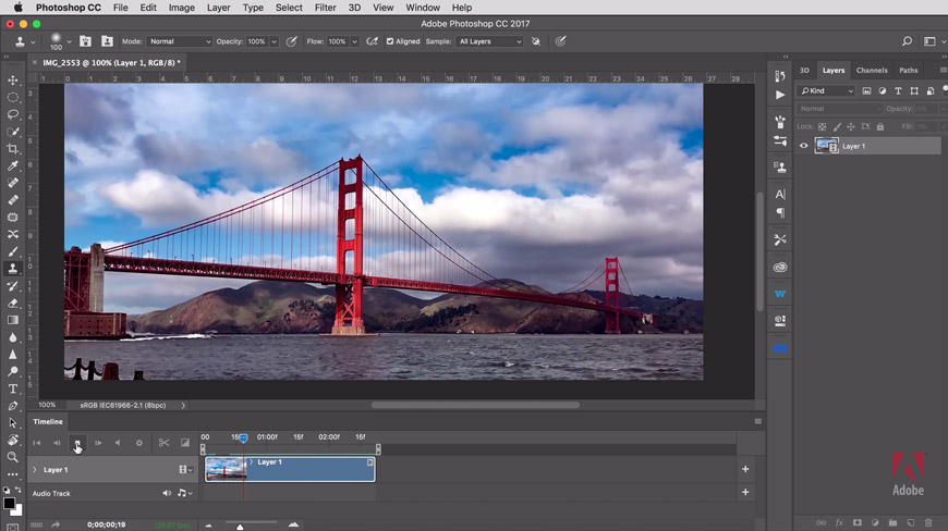 Photoshop in images to combine how