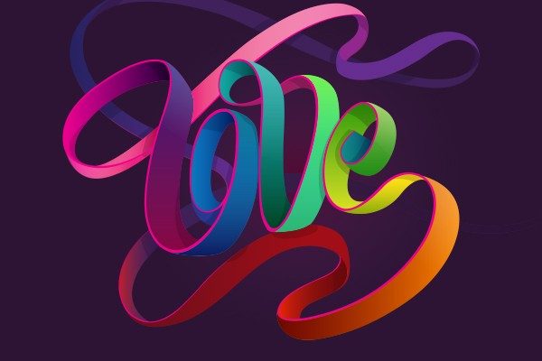 Unity  Love  Strength  Designing Adobe s 2017 Pride Visuals. Graphic Design