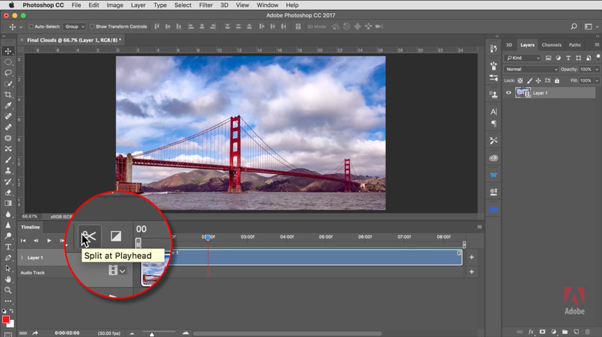 This video tutorial from Russell Preston Brown shows you how to edit video footage in the Adobe Photoshop CC Timeline so that you can render a seamless loop for Instagram or elsewhere.