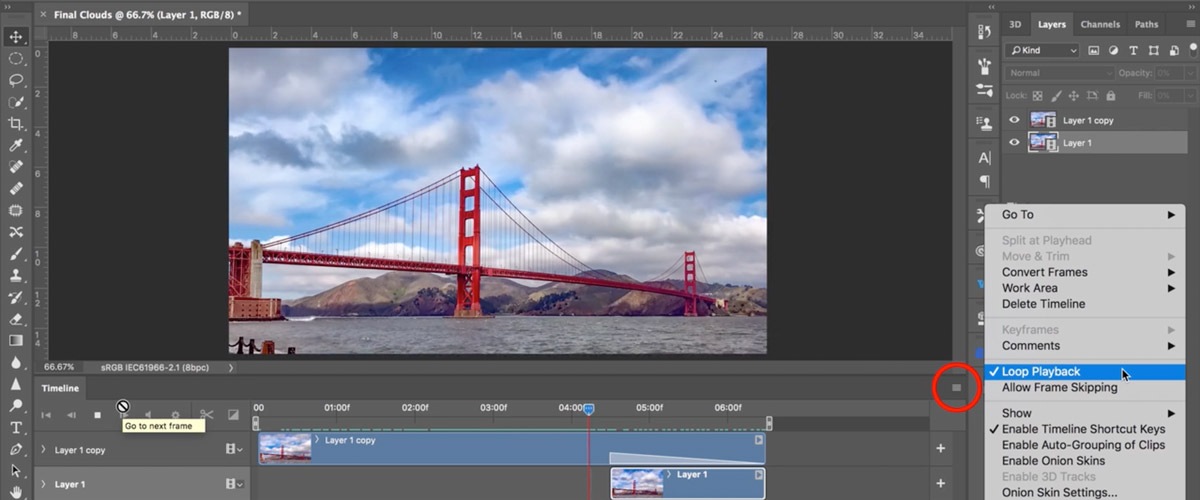 How To Make Seamless Looping Videos for Instagram   Create