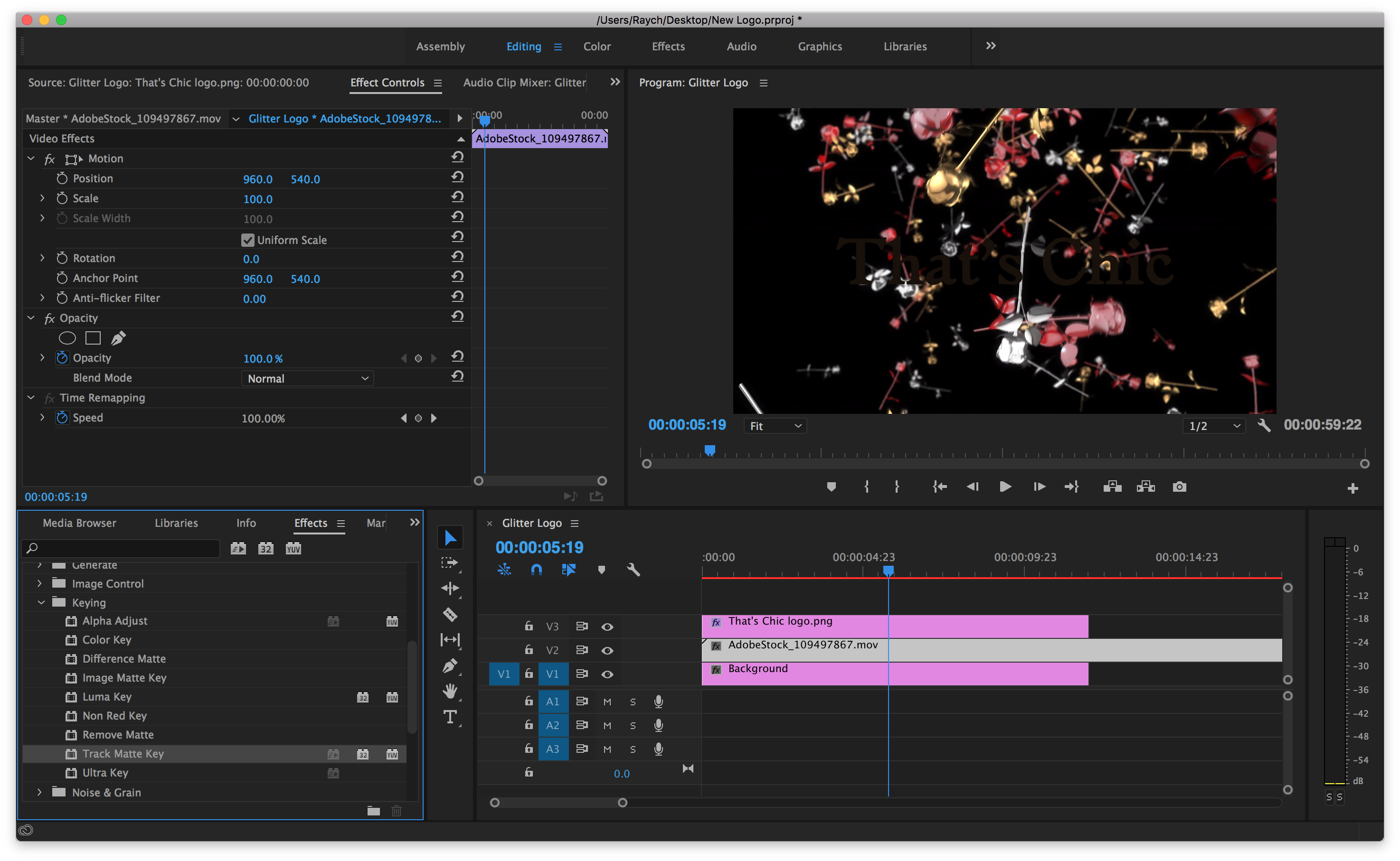 how to make videos connect in premier pro