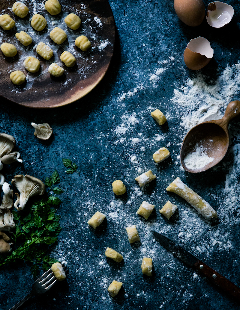 picture of gnocchi by Joanne Pai
