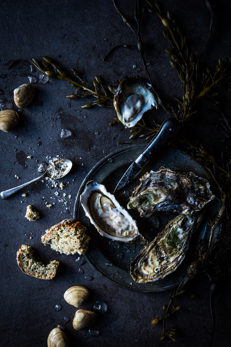 a photo of oysters by joann pai
