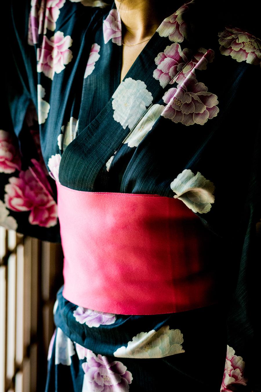 photo of a kimono by Joann Pai