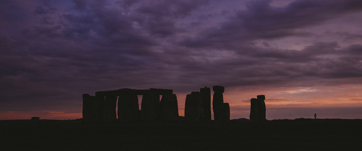 This is an image shot of Stonehenge taken by photographer Julia Nimke. She may have a home in Berlin, but her muse lives in the countryside. Her folktale project is taking her around Europe.