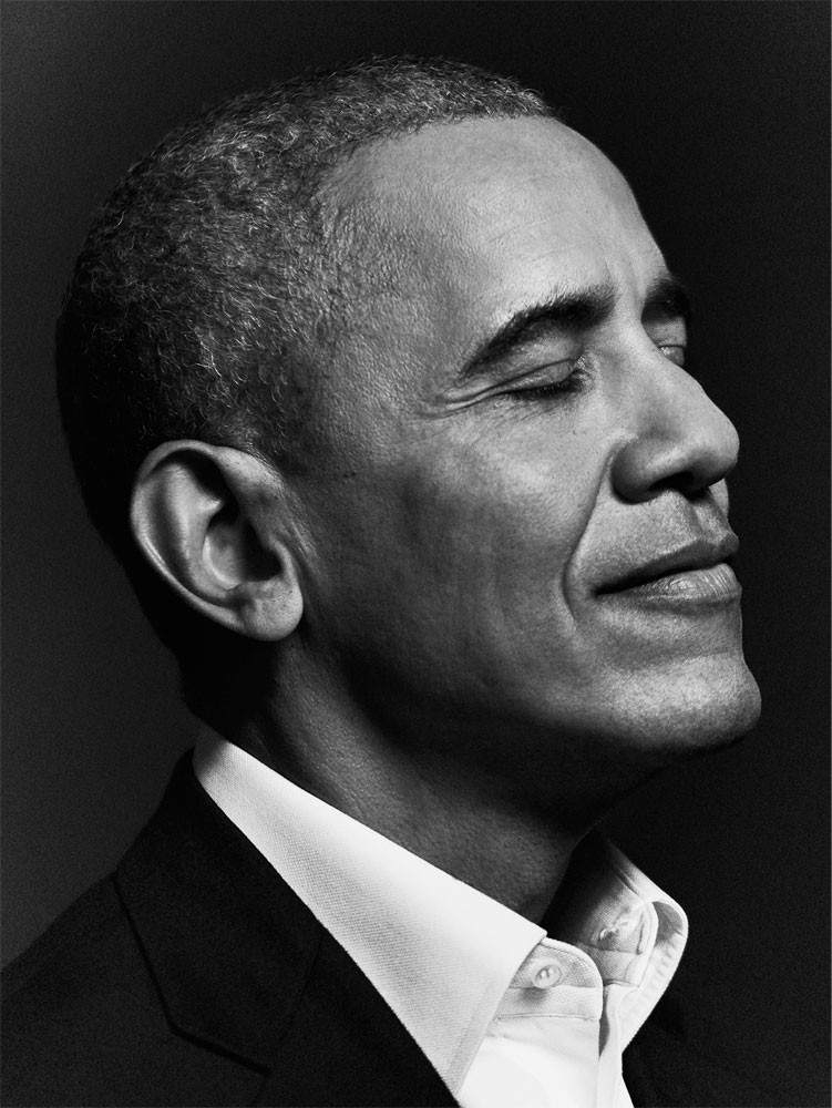 photo of President Barack Obama, photography by Joe Pugliese