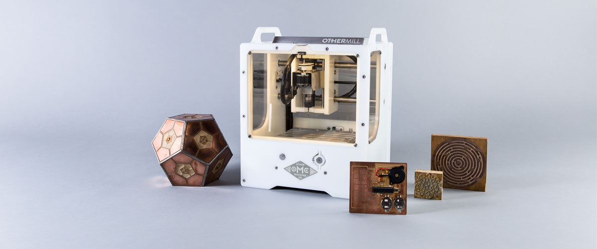 The Othermill desktop mill turns an idea into an object.