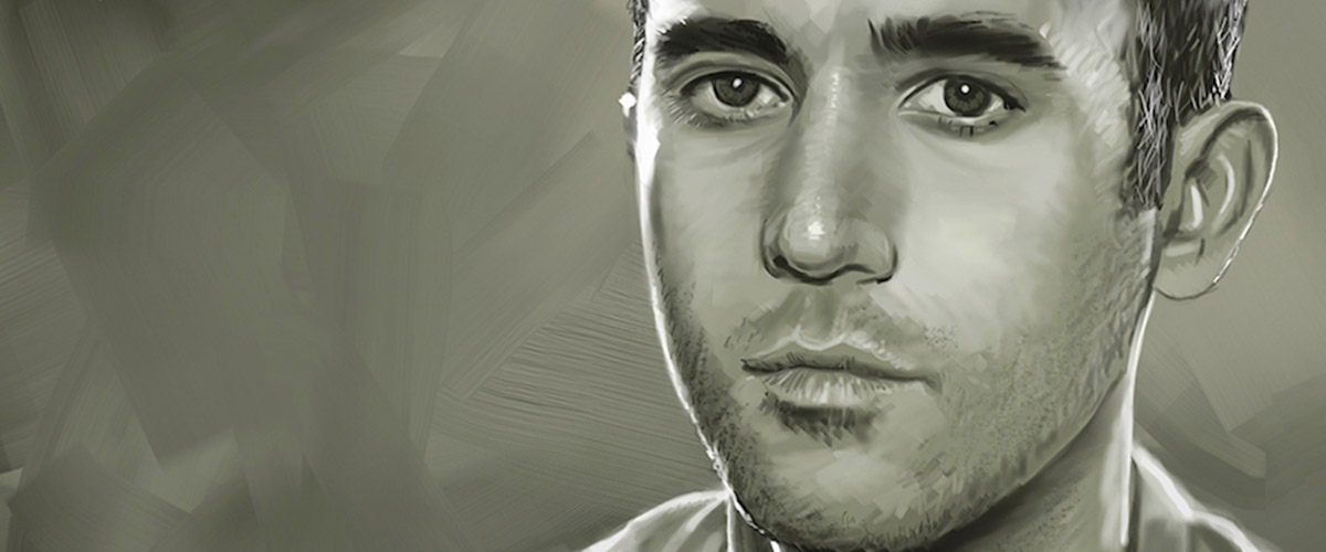 A portrait of Sufjan Stevens, by Timothy Smith