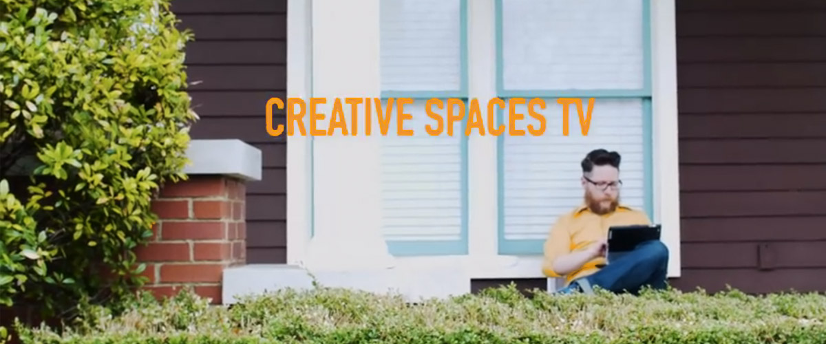 Discover how videographer Sara Dietschy makes Creative Spaces TV with just herself and minimal gear.