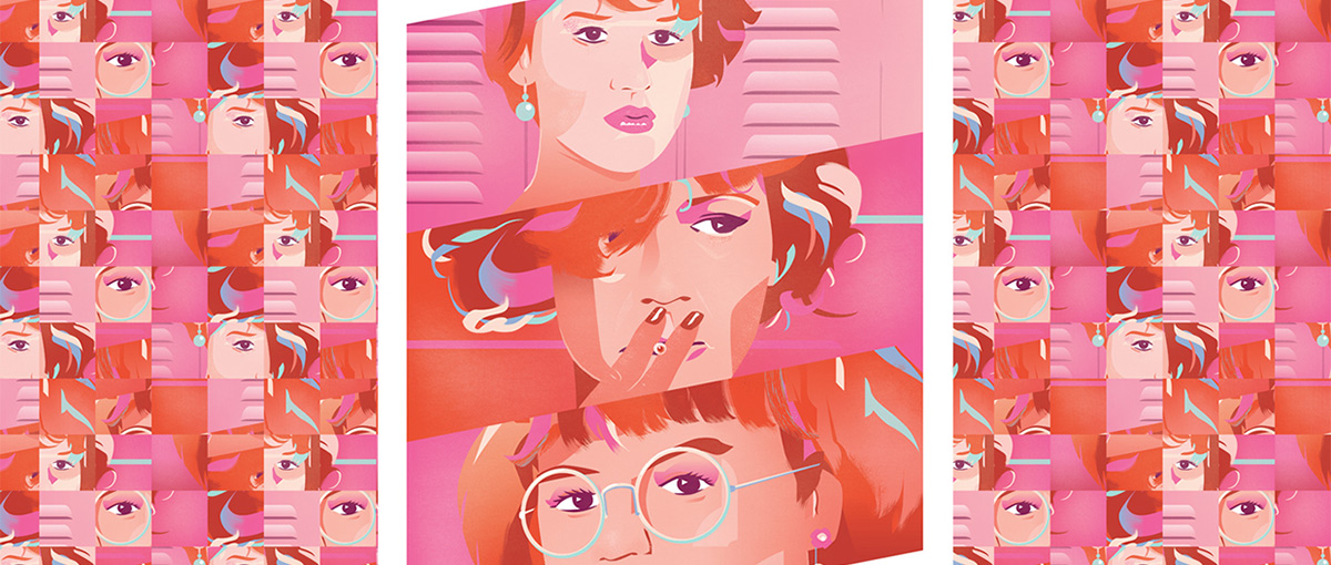 Molly Ringwald is pretty in…Pantone's Colors of the Year.