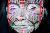 See a unique interactive facial projection-mapping experience.