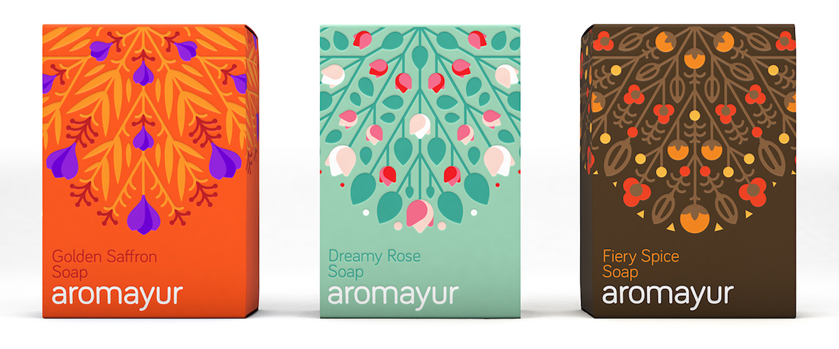 aromayur soap packaging images
