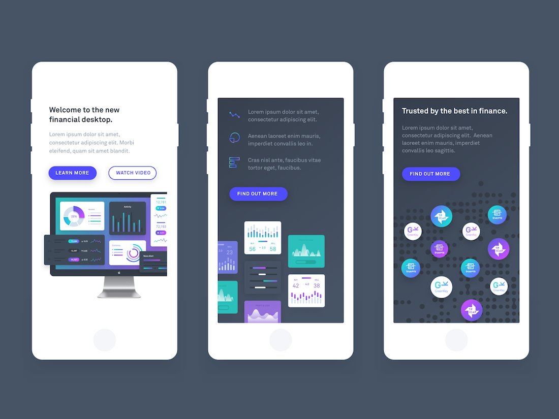 Balancing Form And Function A Conversation With Digital Designer Hello I Am New To Electronics It Has Recently Become Hobby Have Fisher Designed These Screens As Part Of Marketing Concept For Financial Software Company Read More About The Project In This Medium Post By