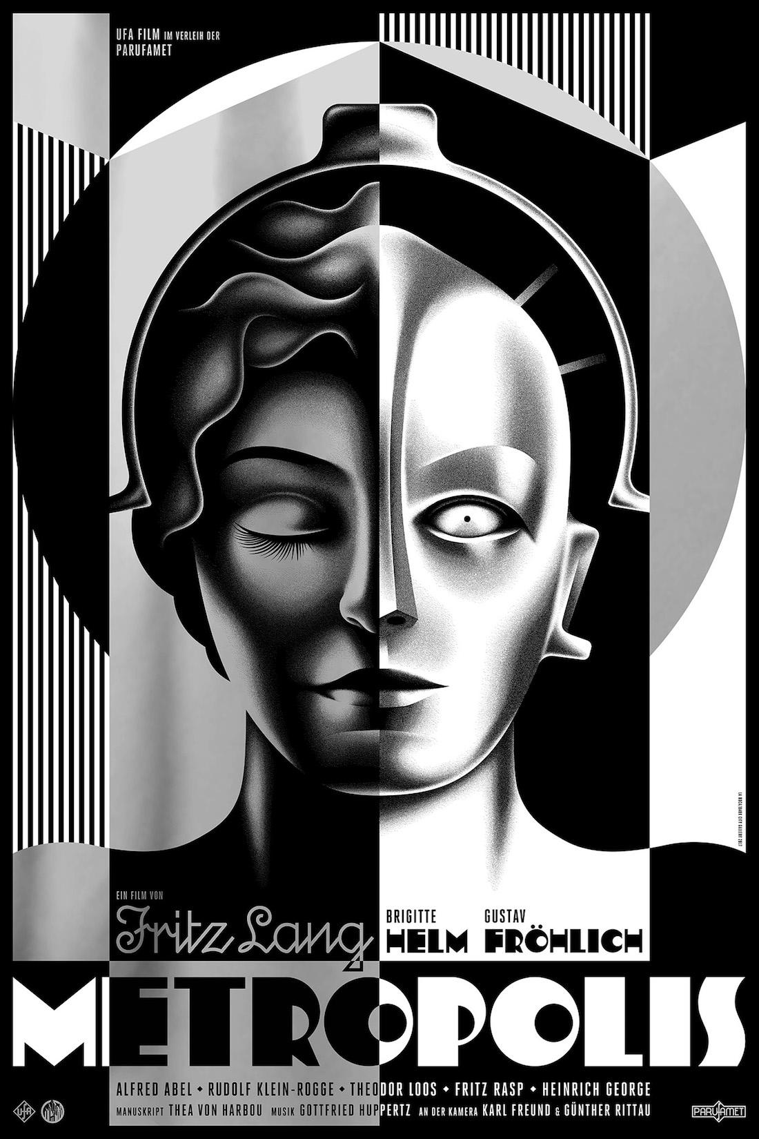 Metropolis poster by la boca silver edition