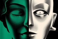 Crop of Metropolis poster by La Boca