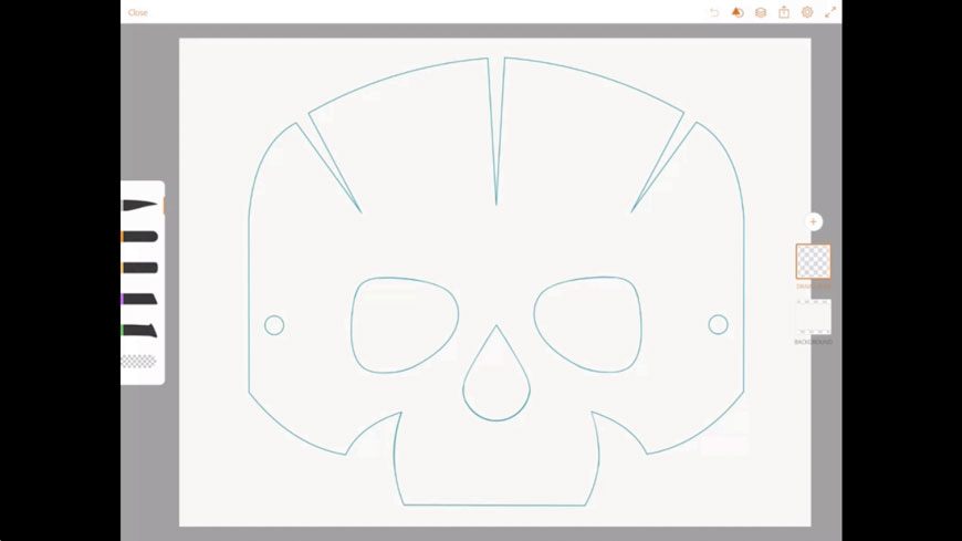 Origami Skull   489x870