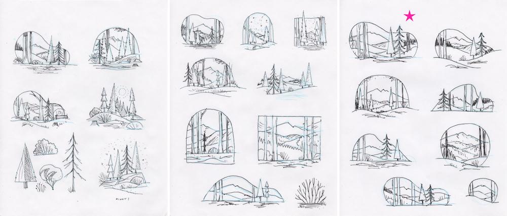Create a Wintry Scene in Adobe Illustrator | Create